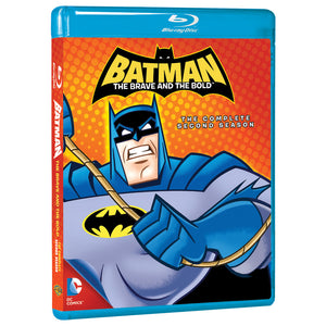 Batman: The Brave and The Bold - The Complete Second Season (BD)
