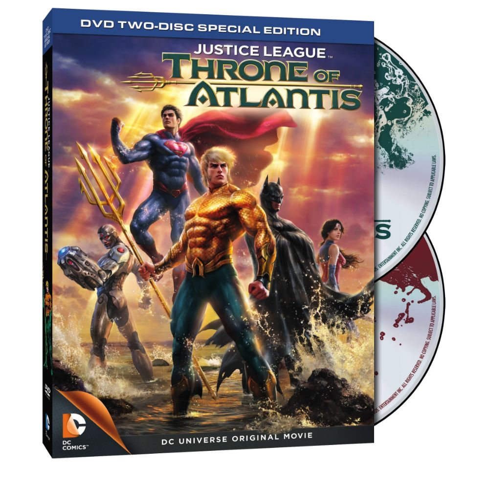 Justice League: Throne of Atlantis (Two-Disc Special Edition) (DVD)