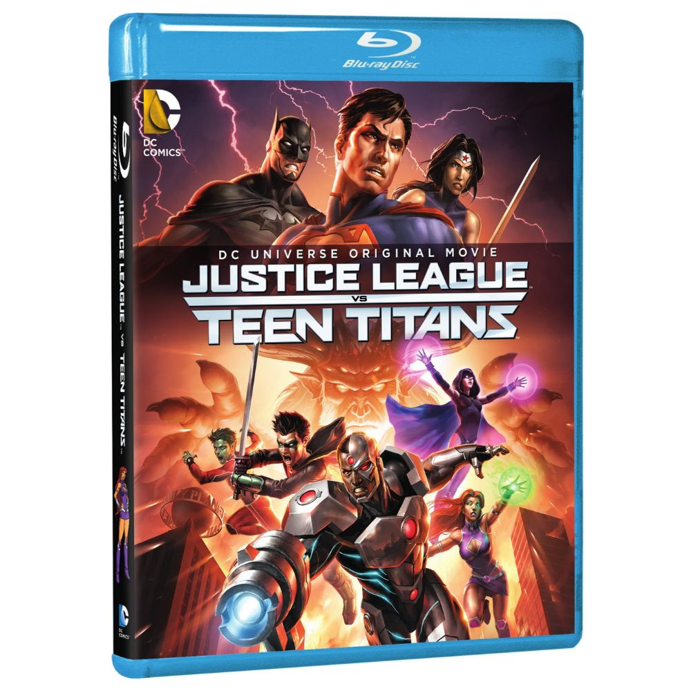 Justice League vs Teen Titans (BD)