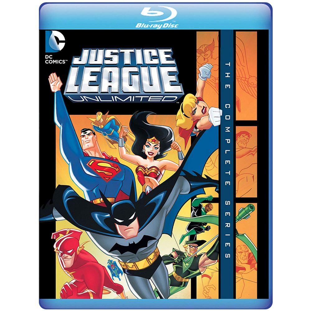 Justice League Unlimited: The Complete Series (BD)