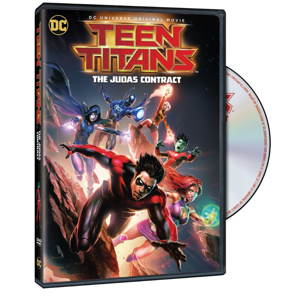 Teen Titans: The Judas Contract (DVD)