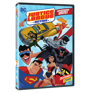 Justice League Action: Season 1 Part 1 (DVD)