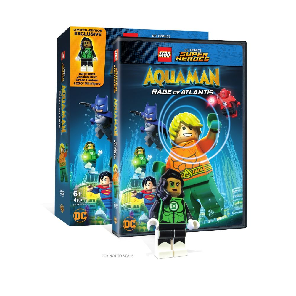 LEGO DC Super Heroes: Aquaman: Rage of Atlantis (Limited Edition Exclusive) (DVD)