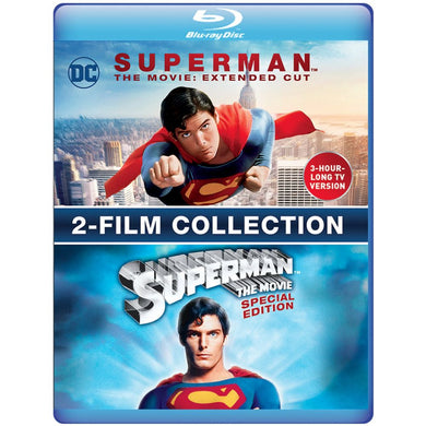 Superman The Movie: Extended Cut & Special Edition 2-Film Collection (BD)