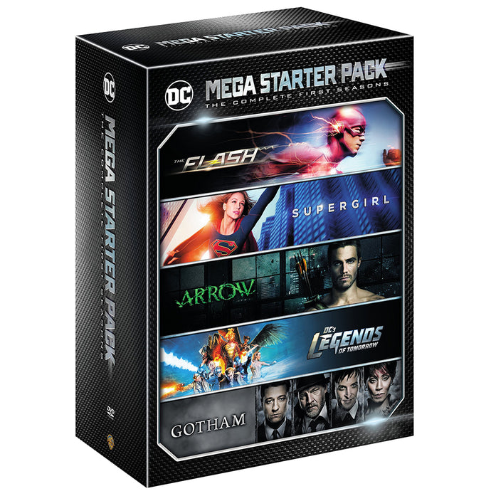 DC Mega Starter Pack: The Complete First Seasons (DVD)