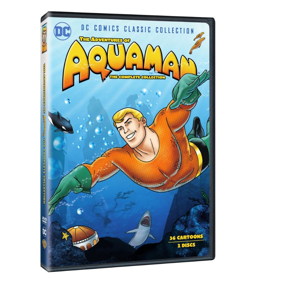 The Adventures of Aquaman: The Complete Collection (DVD)