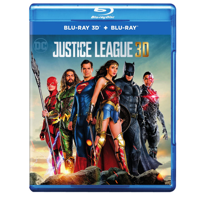 Justice League 3D (Blu-ray 3D + Blu-ray)