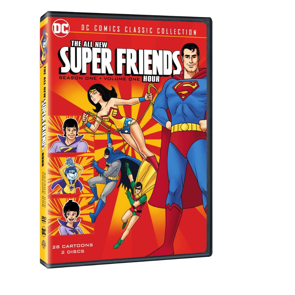 All New Super Friends Hour: Season 1 Volume 1 (DVD)