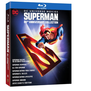 DC Universe Movies: Superman 80th Anniversary Collection (BD)