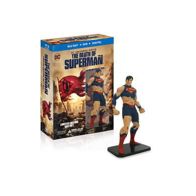 The Death of Superman (Limited-Edition Gift Set) (BD)