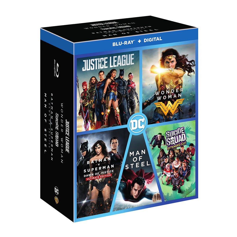 DC 5-Film Collection (5 Pack collection) (BD)