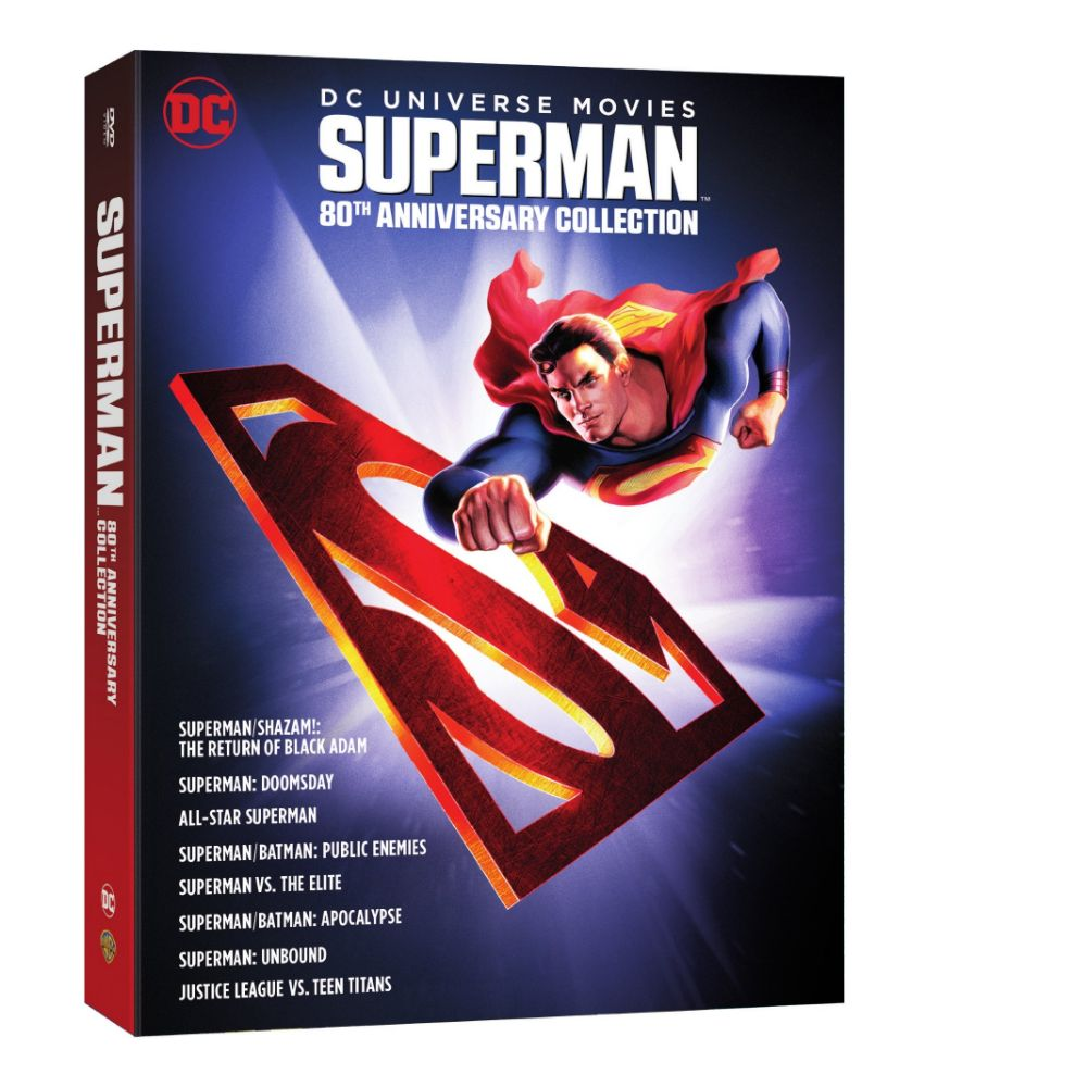 DC Universe Movies: Superman 80th Anniversary Collection (DVD)