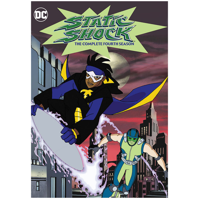 Static Shock: The Complete Fourth Season (MOD)