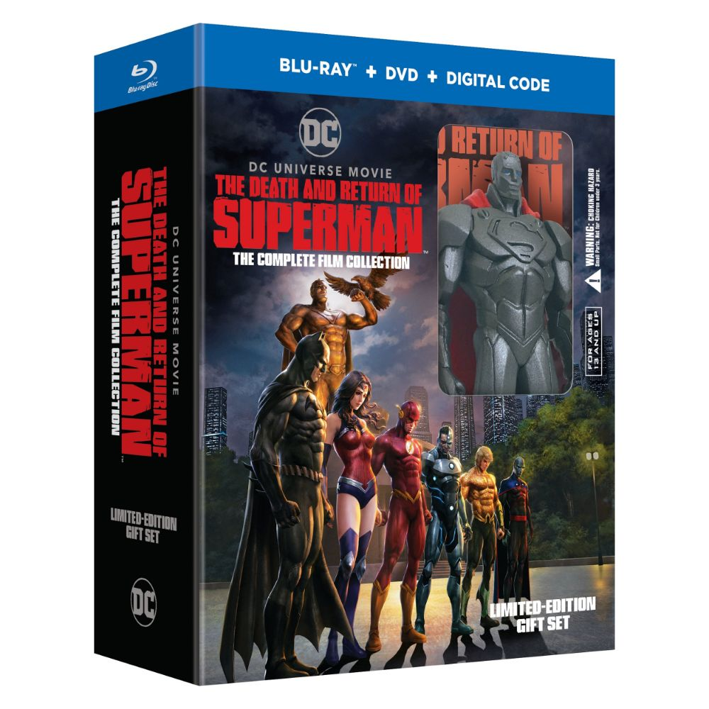 The Death and Return of Superman: The Complete Film Collection (BD)
