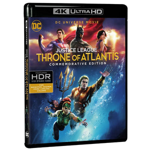Justice League: Throne of Atlantis (Commemorative Edition) (4K UHD)