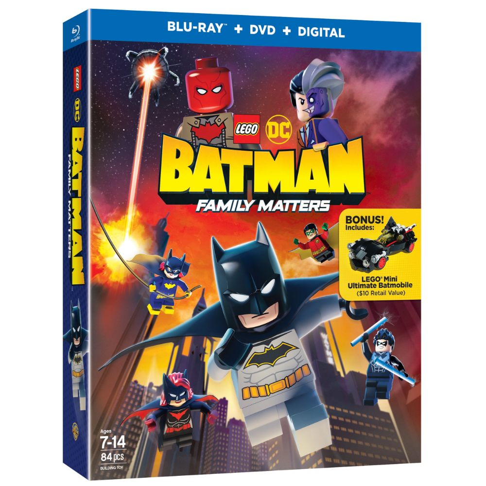 LEGO DC: Batman: Family Matters w/ LEGO Mini Ultimate Batmobile (BD)