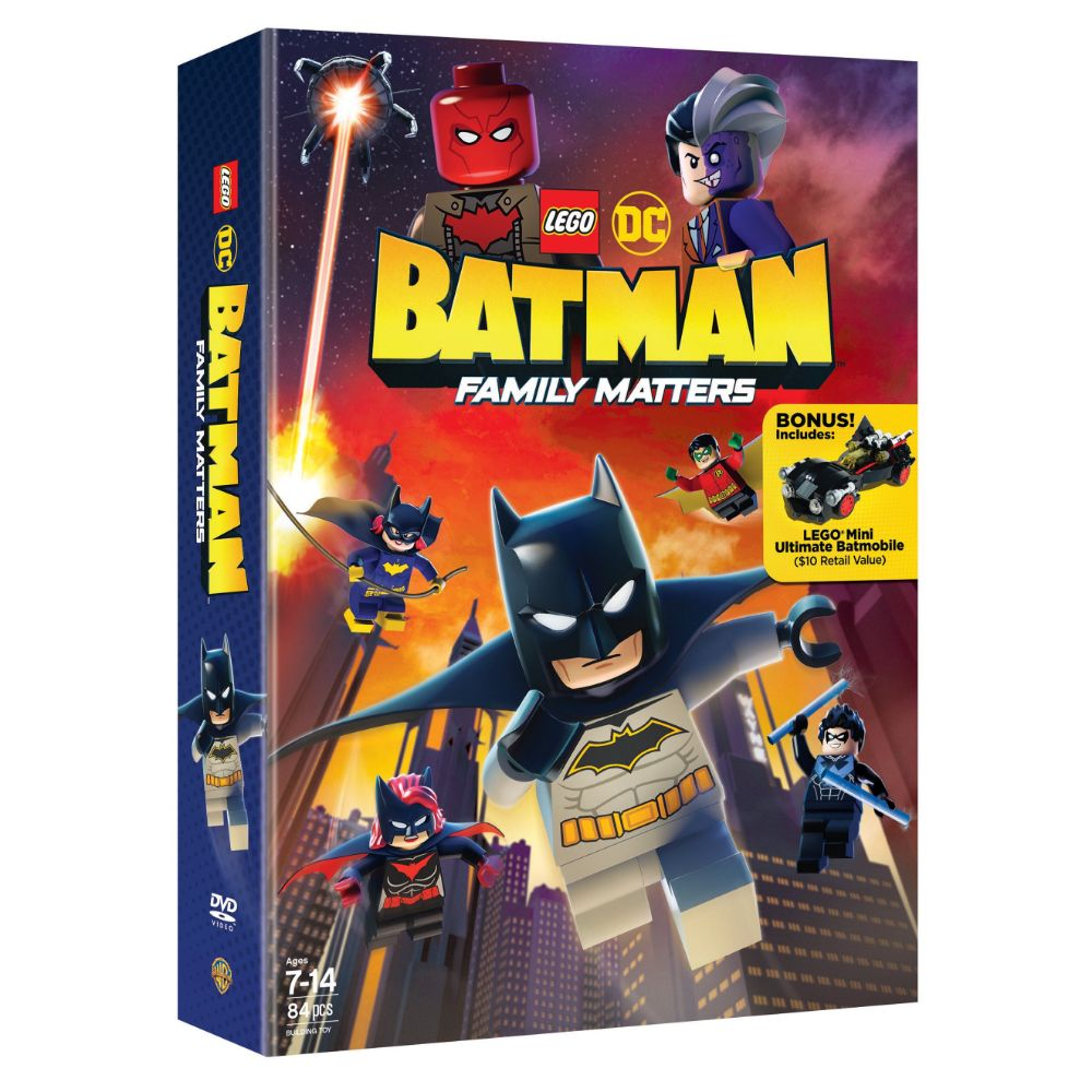 LEGO DC: Batman: Family Matters w/ LEGO Mini Ultimate Batmobile (DVD)
