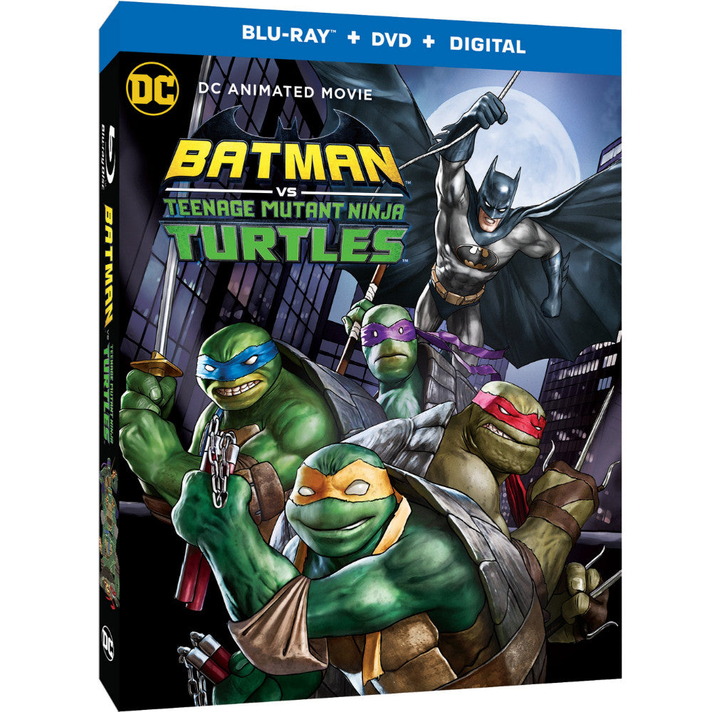 Batman vs. Teenage Mutant Ninja Turtles (BD)