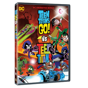 Teen Titans Go! Vs. Teen Titans (DVD)