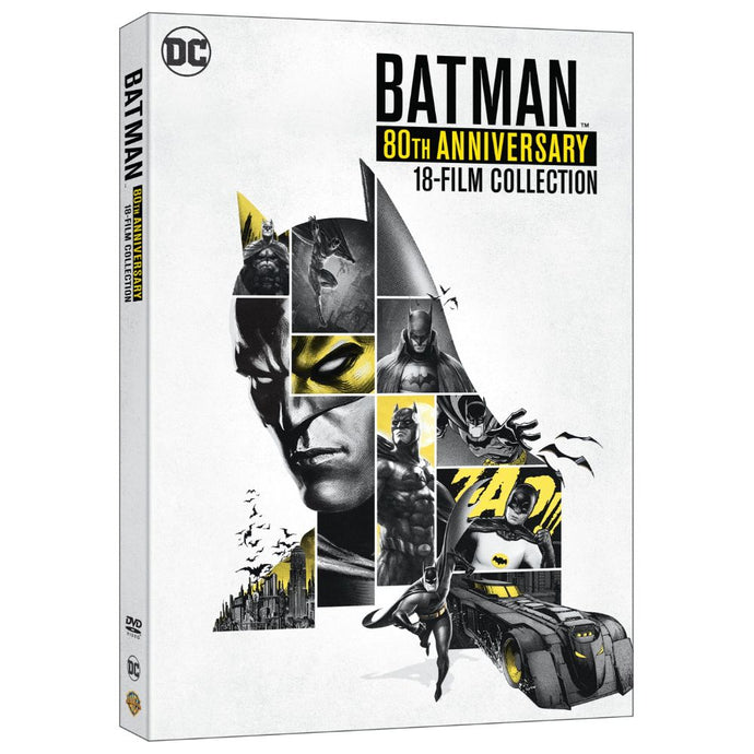 Batman 80th Anniversary 18-Film Collection (DVD)