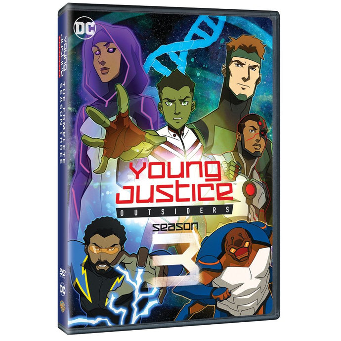 Young Justice Outsiders: The Complete Third Season (DVD)