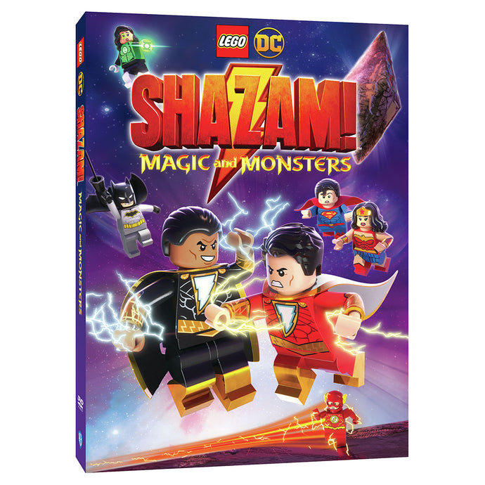 LEGO DC: Shazam: Magic and Monsters (DVD)