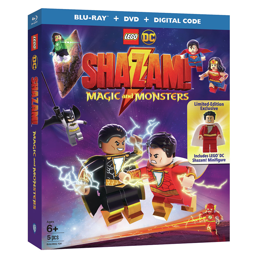 LEGO DC: Shazam: Magic and Monsters w/ Limited-Edition Exclusive LEGO Shazam! Minifigure (BD)