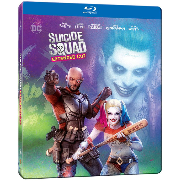 Suicide Squad: Extended Cut (Illustrated Steelbook) (BD)