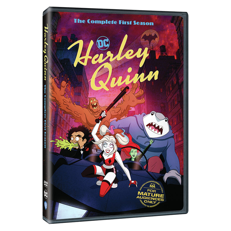Harley Quinn The Complete First Season Dvd Dc Shop