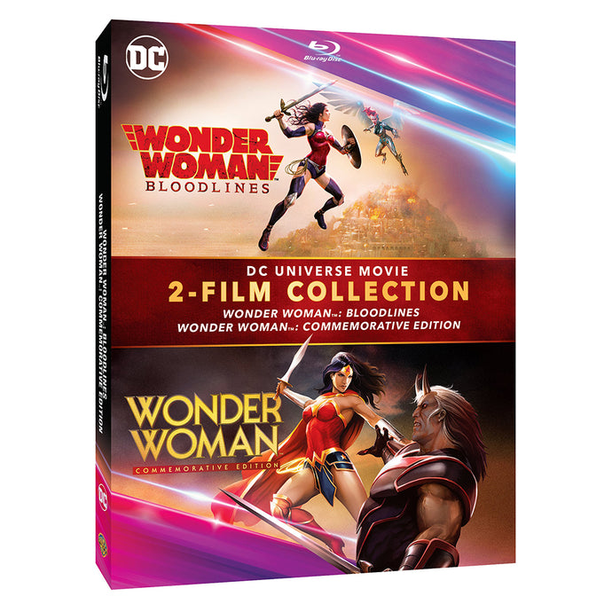 Wonder Woman: Bloodlines/Commemorative Edition (2-Film Collection) (BD)