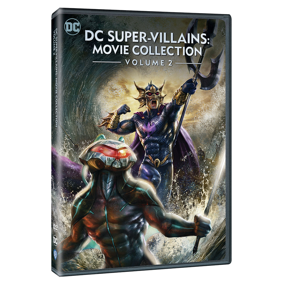 DC Super-Villains: Movie Collection Volume 2 (DVD)