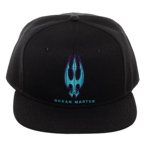 Aquaman Movie Ocean Master (Orm) Logo Embroidered Snapback Hat
