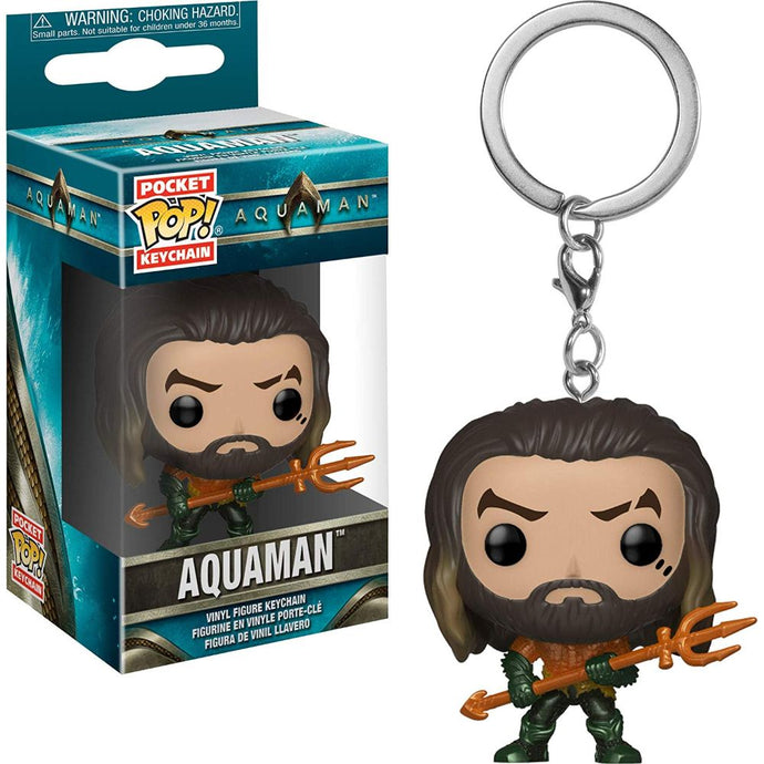 Aquaman Movie Funko Pocket Pop! Keychain