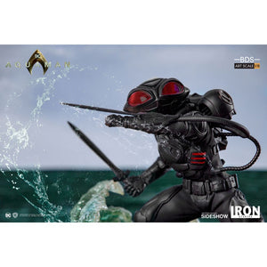 Additional image of Aquaman Movie Black Manta BDS Art Scale 1/10 Statue