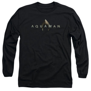 Aquaman Movie Logo Long-Sleeve T-shirt