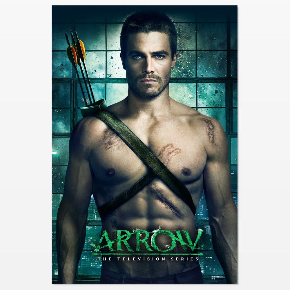 Arrow TV Series Oliver Queen Poster