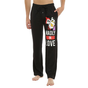 Batman: The Animated Series Harley Quinn & The Joker Madly in Love Lounge and Pajama Pants