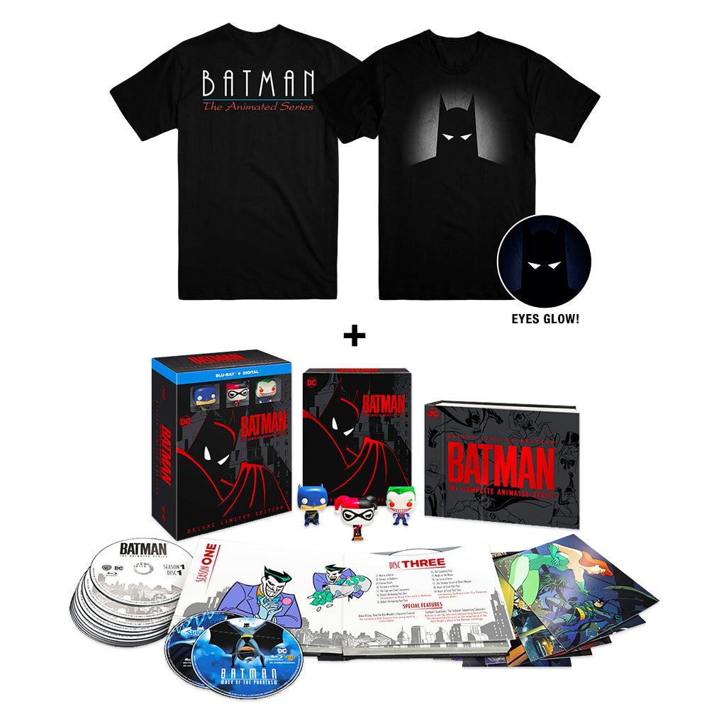 Batman: The Complete Animated Series (Deluxe Limited Edition) (BD) + Exclusive Eyes T-shirt (Set 1)