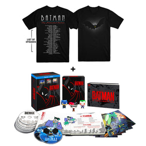 Batman: The Complete Animated Series (Deluxe Limited Edition) (BD) + Exclusive Episodes T-shirt (Set 2)