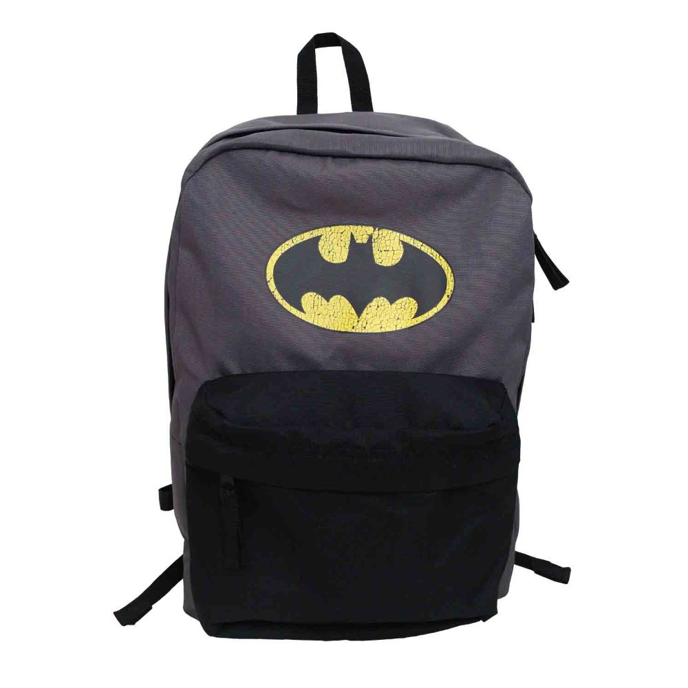 Batman Distressed Logo Backpack