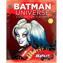 Additional image of Batman Universe Bust Collection Harley Quinn Bust with Magazine #4