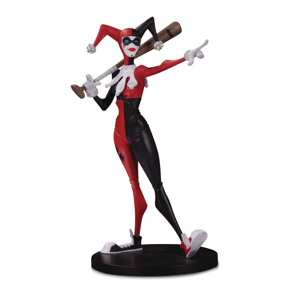 DC Artist Alley: Harley Quinn Limited Edition PVC Figure by Hainanu Nooligan Saulque