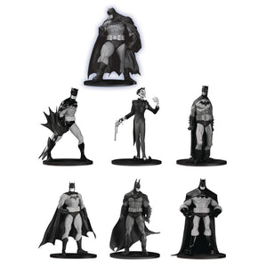 Batman Black & White Mini Figure 7-Pack (Set 3)