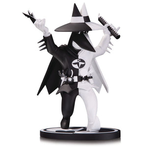 Batman: Black and White Spy Vs Spy Batman by Peter Kuper Statue