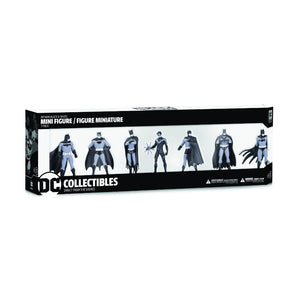 Additional image of Batman Black & White Mini Figure 7-Pack