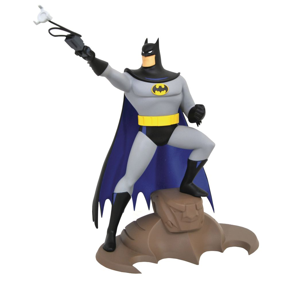 DC Gallery Batman (Grappling Gun) Statue from Batman: The Animated Series