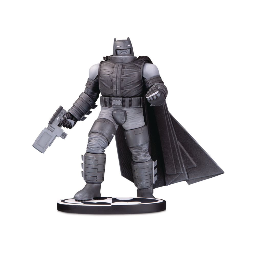 Batman Black & White Armored Batman by Frank Miller Statue