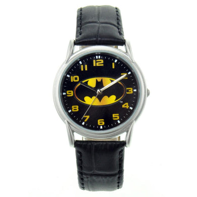 Batman Logo on Black Watch