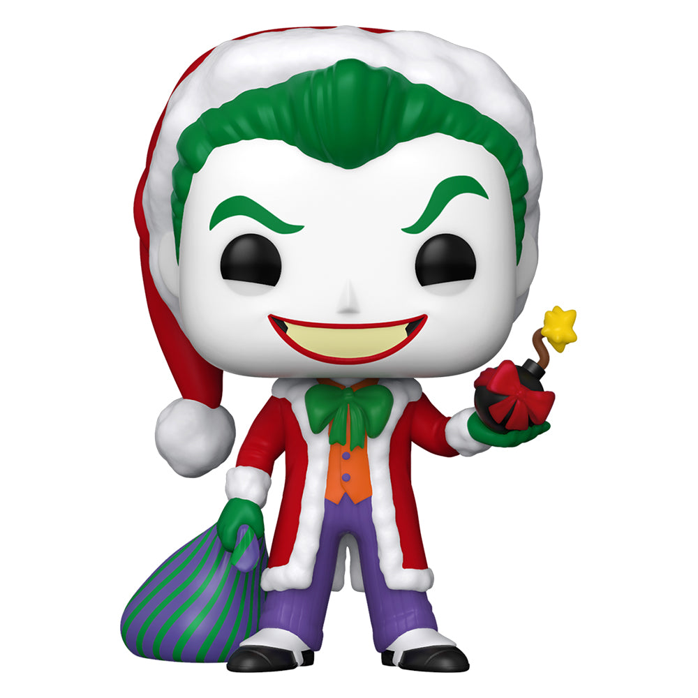DC Holiday: The Joker as Santa Funko Pop! Heroes Vinyl Figure
