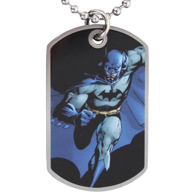 Batman Running Dog Tag